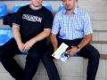 олимпийским чемпионом по г-р борьбе Вартересом Самургашевым (Copier)
