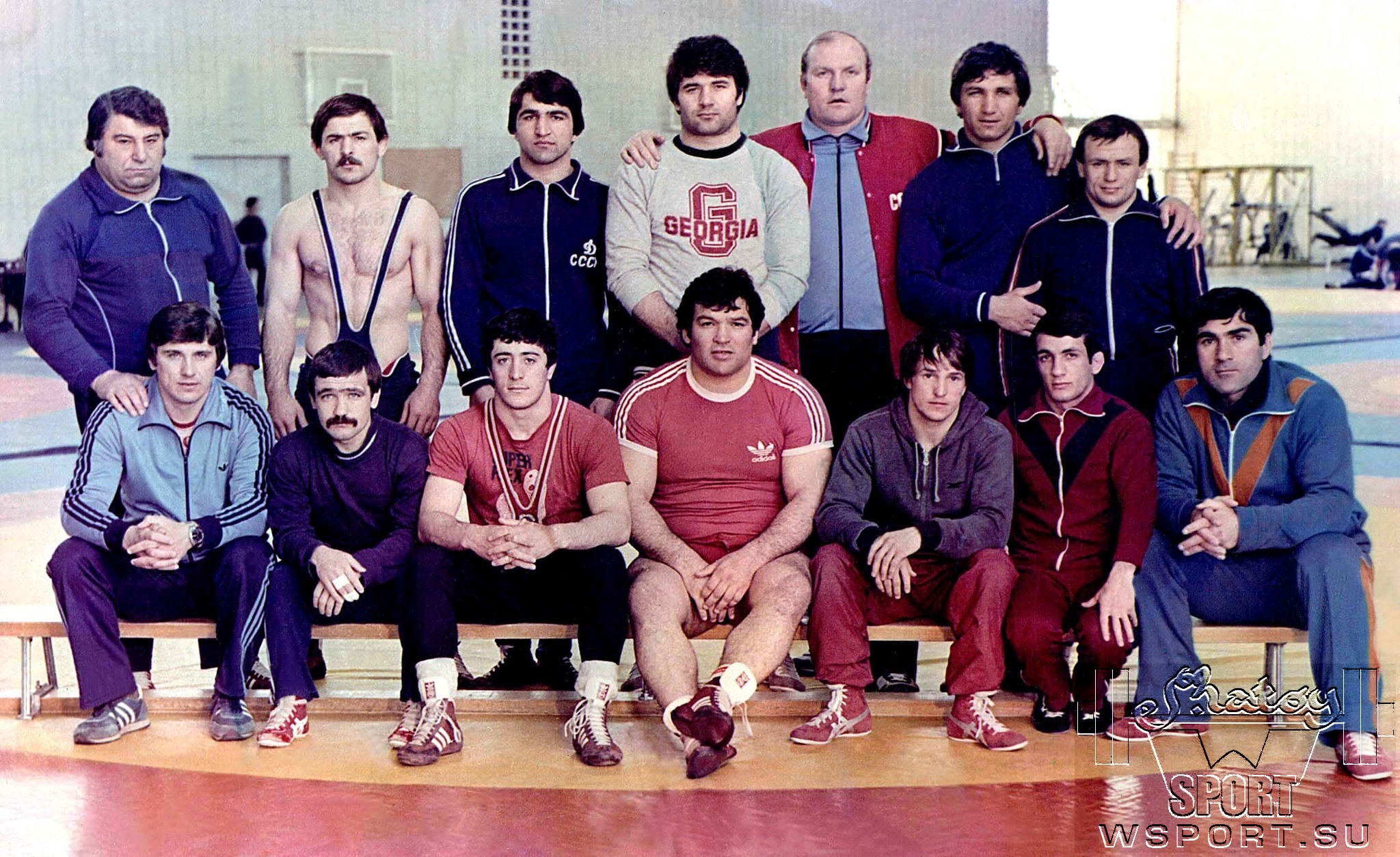 Борцы ЧИАССР в сборной СССР