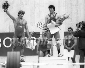 Руслан Балаев - чемпион Игр Доброй воли.  На второй ступеньке пьедестала олимпийский чемпион 1984 года Нику Влад.