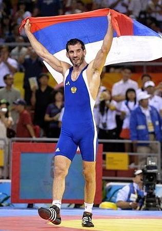 Олимпийские Игры - 2008 в Пекине. Бувайсар Сайтиев в третий раз становится олимпийским чемпионом.