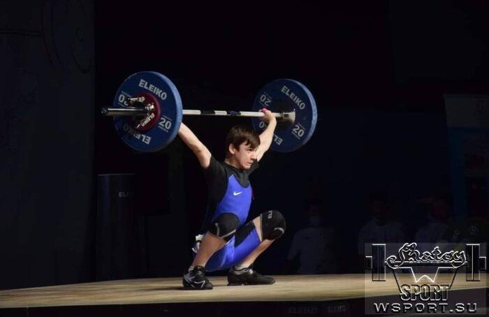 Мухаммад Романов — бронзовый призер первенства Европы